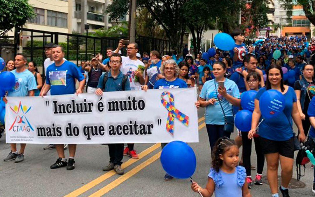 Autismo e Realidade participa da 3ª Caminhada Conscientização do Autismo